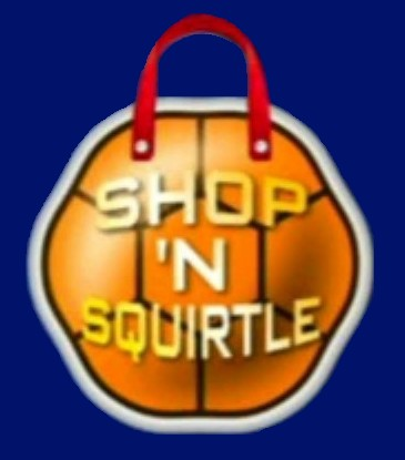 Shop 'N Squirtle Logo